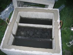 regenwaterput reinigen